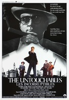The Untouchables - Belgian Movie Poster (xs thumbnail)