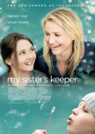 My Sister's Keeper - Norwegian Movie Poster (xs thumbnail)