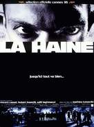 La haine - French Movie Poster (xs thumbnail)