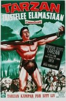 Tarzan's Fight for Life - Finnish Movie Poster (xs thumbnail)