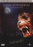 An American Werewolf in London - German DVD cover (xs thumbnail)