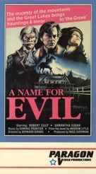 A Name for Evil - VHS movie cover (xs thumbnail)