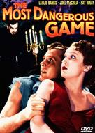 The Most Dangerous Game - DVD movie cover (xs thumbnail)