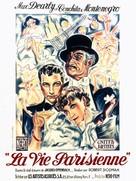 La vie parisienne - French Movie Poster (xs thumbnail)