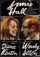 Annie Hall - Hungarian Movie Poster (xs thumbnail)