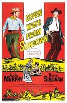 Seven Ways from Sundown - Movie Poster (xs thumbnail)