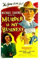 Murder Is My Business - Movie Poster (xs thumbnail)