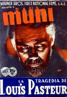 The Story of Louis Pasteur - Spanish Movie Poster (xs thumbnail)