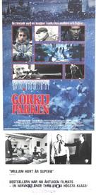 Gorky Park - Swedish Movie Poster (xs thumbnail)