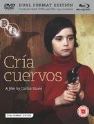 Cría cuervos - British Blu-Ray cover (xs thumbnail)