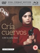 Cría cuervos - British Blu-Ray movie cover (xs thumbnail)