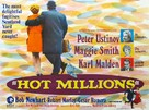 Hot Millions - British Movie Poster (xs thumbnail)