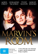 Marvin's Room - Australian DVD cover (xs thumbnail)