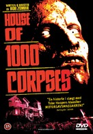 House of 1000 Corpses - Danish DVD movie cover (xs thumbnail)