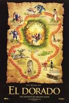 The Road to El Dorado - Movie Poster (xs thumbnail)