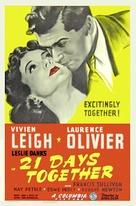 21 Days - Movie Poster (xs thumbnail)