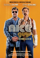 The Nice Guys - Polish Movie Poster (xs thumbnail)