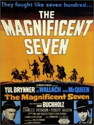 The Magnificent Seven - British Movie Poster (xs thumbnail)