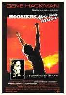Hoosiers - Spanish Movie Poster (xs thumbnail)