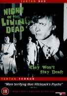 Night of the Living Dead - British Movie Cover (xs thumbnail)
