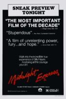 Midnight Express - Advance poster (xs thumbnail)