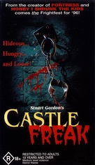 Castle Freak - Australian VHS movie cover (xs thumbnail)
