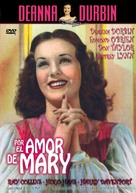For the Love of Mary - Spanish DVD cover (xs thumbnail)