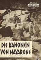 The Guns of Navarone - German poster (xs thumbnail)