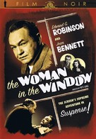 The Woman in the Window - DVD cover (xs thumbnail)