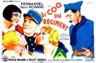 Coq du règiment, Le - French Movie Poster (xs thumbnail)