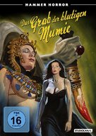 Blood from the Mummy's Tomb - German Movie Cover (xs thumbnail)
