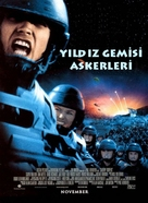 Starship Troopers - Turkish Movie Poster (xs thumbnail)