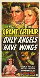 Only Angels Have Wings - Theatrical movie poster (xs thumbnail)