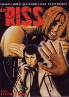 La rupture - German Movie Poster (xs thumbnail)