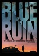 Blue Ruin - Canadian DVD cover (xs thumbnail)