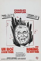 A King in New York - Belgian Movie Poster (xs thumbnail)