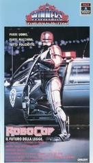 RoboCop - Italian VHS cover (xs thumbnail)