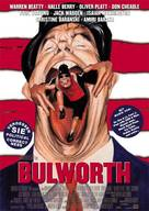 Bulworth - German Movie Poster (xs thumbnail)