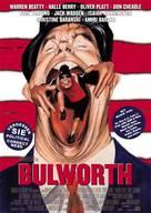Bulworth - German Movie Poster (xs thumbnail)