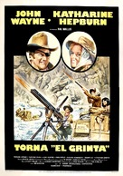 Rooster Cogburn - Italian Movie Poster (xs thumbnail)
