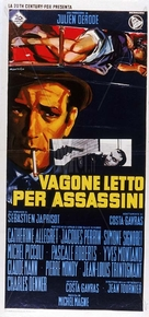 Compartiment tueurs - Italian Movie Poster (xs thumbnail)