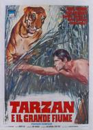 Tarzan and the Great River - Italian Movie Poster (xs thumbnail)