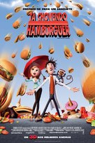 Cloudy with a Chance of Meatballs - Brazilian Movie Poster (xs thumbnail)