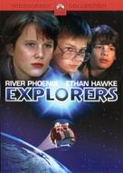 Explorers - DVD cover (xs thumbnail)