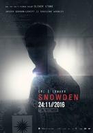 Snowden - Italian Movie Poster (xs thumbnail)