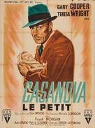 Casanova Brown - French Movie Poster (xs thumbnail)