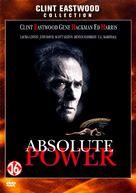 Absolute Power - Dutch DVD cover (xs thumbnail)
