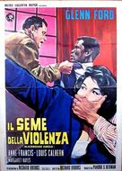 Blackboard Jungle - Italian Movie Poster (xs thumbnail)