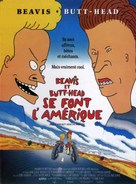 Beavis and Butt-Head Do America - French Movie Poster (xs thumbnail)