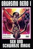 Orgasmo nero - German DVD cover (xs thumbnail)
